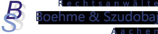 Rechtsanwalt Boehme Aachen Logo